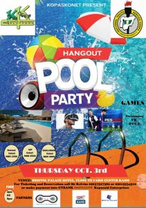 hangout pool party
